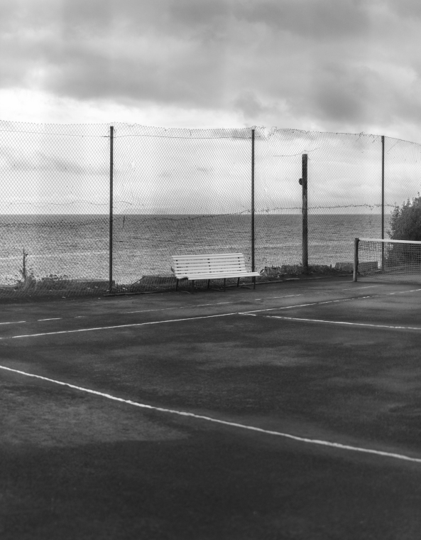 Tennis Court (aus der Serie Perfect World), Chris Roemer