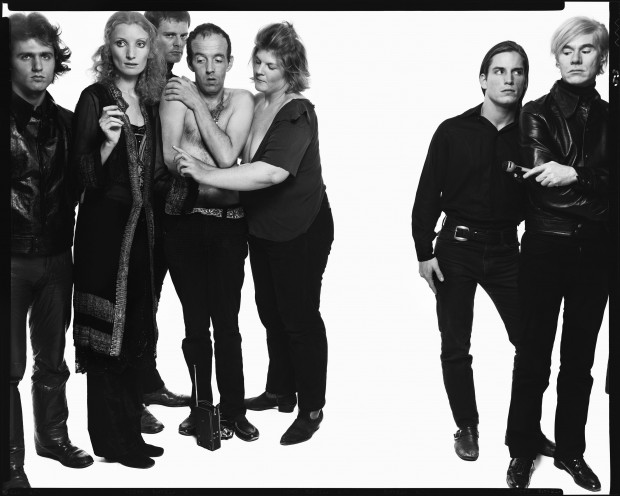 Andy Warhol and members of The Factory
