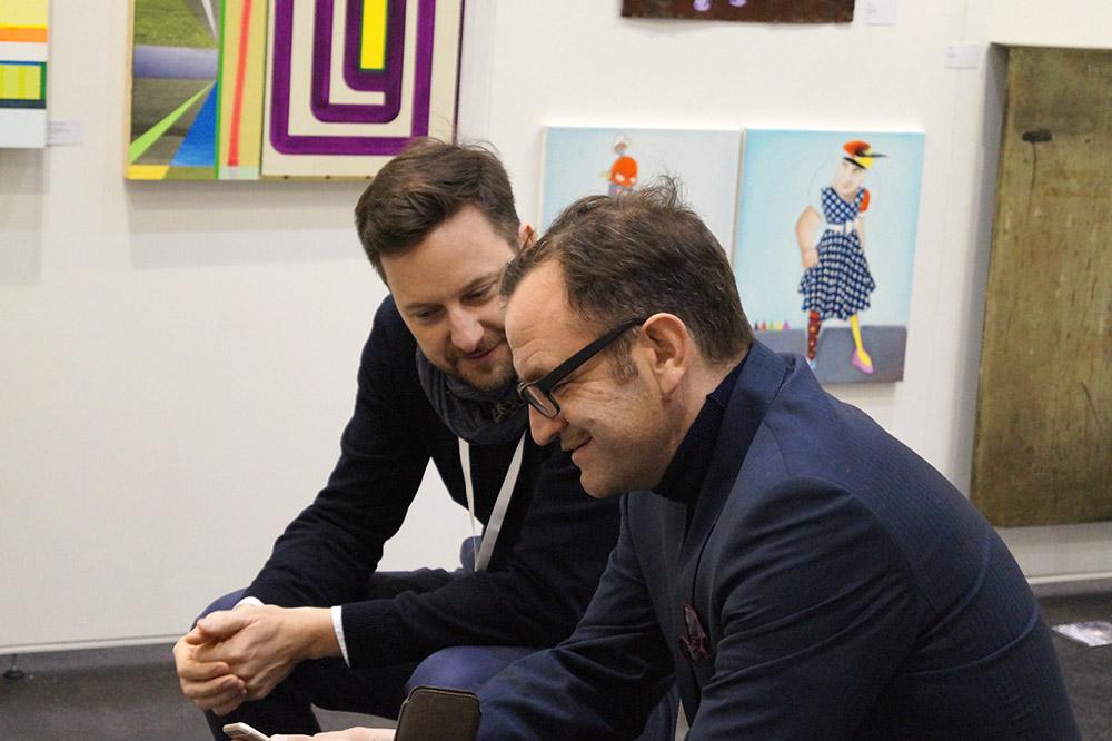 Pablo & Paul auf der Affordable Art Fair Hamburg