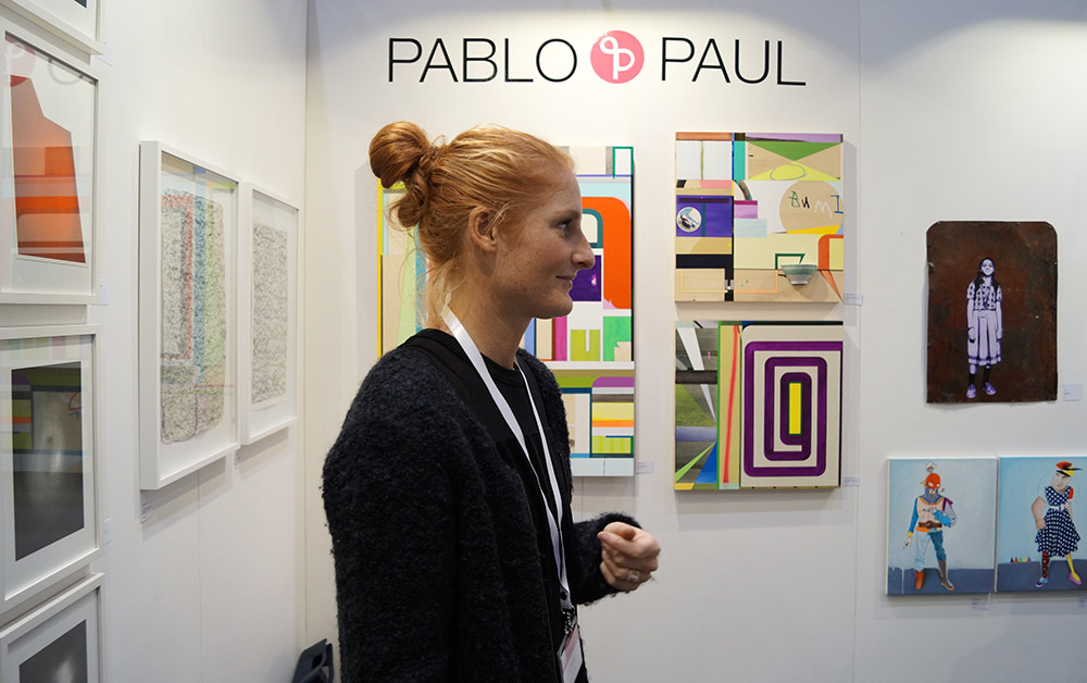 pablo paul auf der affordable art fair hamburg pablo paul blog. Black Bedroom Furniture Sets. Home Design Ideas